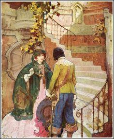 Illustration by Mead Schaeffer (1898-1980).