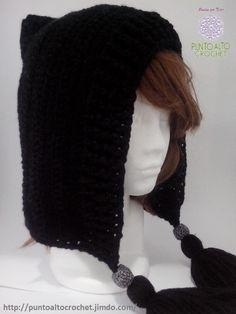 Capucha crochet