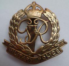 GVIR CMP cap badge
