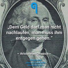 Zitate, Sprüche, bluequotes, Geld, Aristoteles Onassis