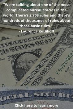 Today we hear from NY Times Best Selling author Laurence Kotlikoff about Social Security and divorce. He is going to give us just a taste of how complex social security is, and he shares his vast knowledge on the subject. This episode you're going to want to listen to more than once!