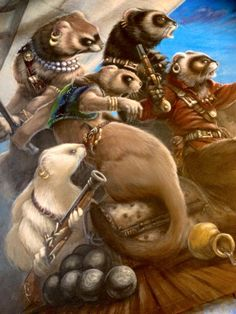 ferret pirates - there will be prints available for purchase soon. I've already asked the artist for one! @azure47