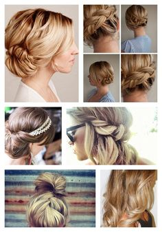100 Top Hairstyles Every Woman Should Try: Braids, Curls, Up-Dos And Cool Braid Hairstyles, Top Hairstyles, Easy Hairstyles For Long Hair, African Hairstyles, Bun Hairstyle, Celebrity Hairstyles, Hairstyle Ideas, Braids With Curls, Crown Braids