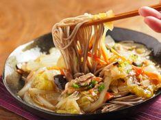 煮込み白菜のあんかけ蕎麦 魚料理と簡単レシピ