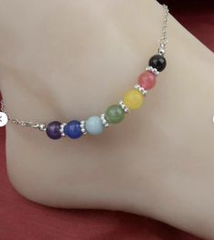 Mindfulness Gift Gypsy Anklet Shiny Brite Bells
