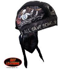 Set 1 Lot of 2 Sturgis Motorcycle Rally Premium Head Wrap Biker Durag Sweatband