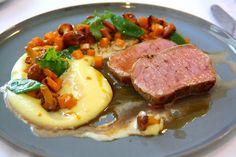 Léontine Hauptspeise (c) STADTBEKANNT - Das Wiener Online Magazin Online Magazine, Tuna, Life Is Good, Steak, Fish, Life Is Beautiful, Steaks, Atlantic Bluefin Tuna, Beef