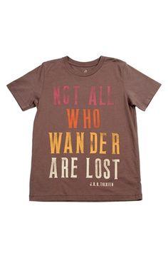 Peek 'Wander' Graphic T-Shirt (Toddler Boys, Little Boys & Big Boys)