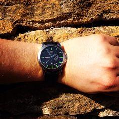 In the vineyard Wood Watch, Vineyard, Watches, Accessories, Fashion, Wooden Clock, Moda, Wristwatches, Fashion Styles