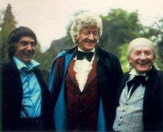 Awesome the three Dr.s  - William Hartnell with Patrick Troughton and Jon Pertwee