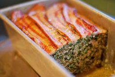 Super Porktastic Bacon-Topped Spinach and Mushroom Meatloaf   Award-Winning Paleo Recipes   Nom Nom Paleo