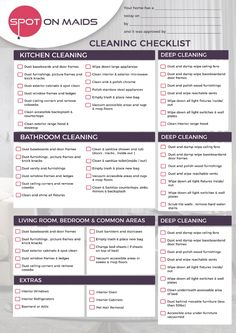 Cleaning Checklist Move In Or Move Out Cleaning Checklist Post Construction Checklist Checklist You are in the right place about House Moving truck Here we offer you the most beautiful pictu Cleaning Checklist Printable, House Cleaning Checklist, House Cleaning Services, Business Cleaning Services, Janitorial Cleaning Services, Apartment Checklist, Cleaning Business Cards, Cleaning Companies, Cleaning Maid