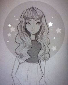 ⭐️✨ Small Sketch~ I haven't been posting a lot though I've been online! My arm…
