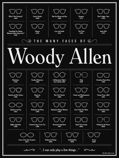"Brandon Schaefer ""The Many Face Of Woody Allen"""