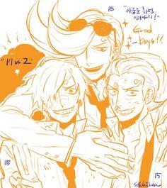 One Piece, Vinsmoke family, Sanji, Niji, Yonji