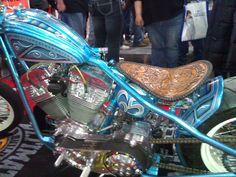 Custom-Design Motorcycle Chopper (Photo 2.) #NYMotorcycleShows #Bikes #Cruisers #Motorcycles