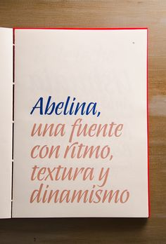 Abelina / Typeface Design Project on Behance