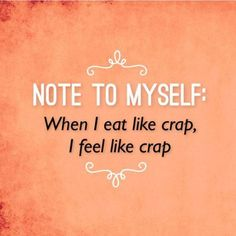 So very important to remember! It's also ok to give into cravings just eat in…