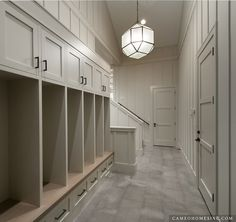 Mudroom Lockers - Contemporary - laundry room - Cameo Homes