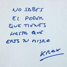 """Aparentar """"X"""" nivel de #exito  teniendo """"X/2"""" crea una #imagen distorsionada de ti ... #felizsabado kraxers"""