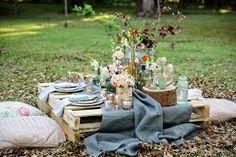 elegant picnic wedding - Pesquisa Google