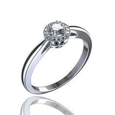 23 melhores imagens de Anéis de Noivado   Estate engagement ring ... ecc08bf20e