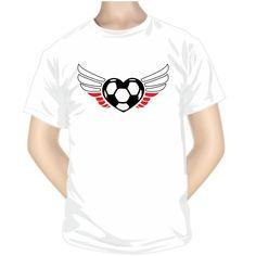 Tee shirt de sport : cœur - Pologne - Pour les sportifs - SiMedio