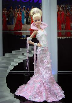 barbie doll evening gowns 12.28.6 qw