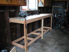 - garage workbench -