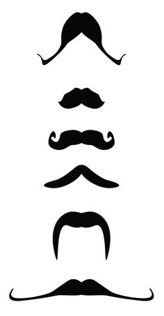 A printable mustache for the peddler during dramatic play.  Clue to a popsicle stick.