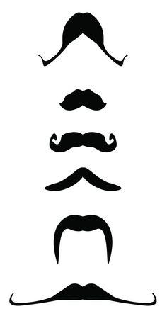 Printable Moustaches 1
