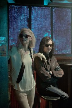 Tilda Swinton and Tom Hiddleston as Eve and Adam in Only Lovers Left Alive.