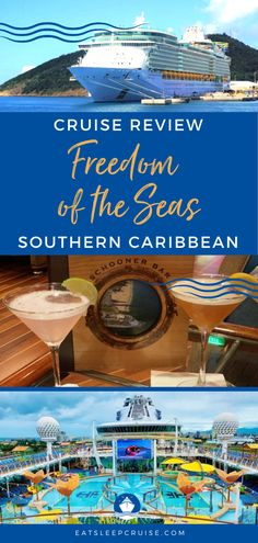Are you dreaming of a cruise vacation with the exotic destinations, the outfits and pictures to make your friends envious? You may want to consider the Royal Caribbean Freedom of the Seas Southern Caribbean cruise. We recently sailed on this vessel and here we share the details of our experience. Check it out today! You just may want to book for 2021 now, so you're ready as soon as cruising resumes! #FreedomOfTheSeas #RoyalCaribbeanCruises #RCL #CruiseVacation #CruiseReview #CruiseShips Best Cruise, Cruise Vacation, Vacations, Liberty Of The Seas, Freedom Of The Seas, Cruise Excursions, Cruise Destinations, Cruise Checklist, Southern Caribbean Cruise