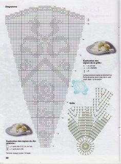 Home Decor Crochet Patterns Part 154 - Beautiful Crochet Patterns and Knitting Patterns Crochet Tablecloth Pattern, Crochet Doily Patterns, Crochet Designs, Crochet Doilies, Crochet Lace, Knitting Patterns, Crochet Round, Filet Crochet, Mantel Redondo