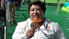 Catalina Díaz obtiene bronce en powerlifting paralímpico de Río 2016