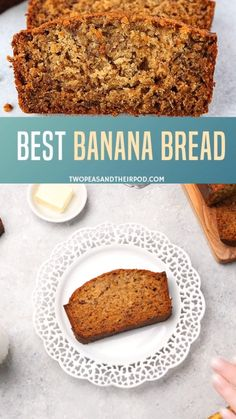 This classic banana bread recipe will let you learn how to make the best banana bread ever! Add up some chocolate chips, chopped nuts, blueberries or flaked coconut for a delicious quick banana bread you desire. Make one loaf and enjoy it! Quick Banana Bread, Flours Banana Bread, Homemade Banana Bread, Gluten Free Banana Bread, Blueberry Bread, Homemade Breads, Quick Bread, Bread Recipe Video, Banana Bread Ingredients