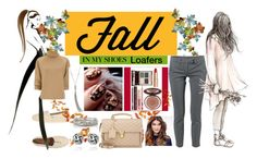 """""""fall"""" by kim-coffey-harlow ❤ liked on Polyvore featuring ULTA, TOMS, Dondup, J.W. Anderson, Sally Hansen, Yves Saint Laurent and Charlotte Tilbury"""