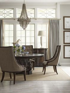 Retrospect Salome Round Table Base  Furniture  Pinterest  Table Awesome Thomasville Dining Room Chairs Decorating Inspiration