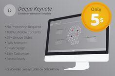 Deepo Keynote Template by VigitalArt on Creative Market