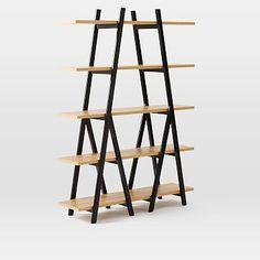 Ladder Bookshelf #westelm