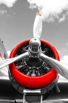DC3 Pratt & Whitney radial Engine - Image sizes from 12x18 for $25 from the Vintage Poster Company
