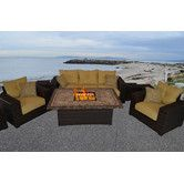 Found it at Wayfair - South Beach 8 Piece Deep Seating Group with Cushion