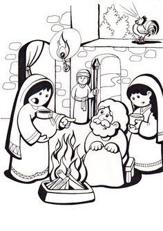 La Catequesis (El blog de Sandra): Vía Crucis para colorear los niños de Catequesis