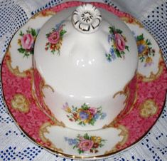 RP: Royal Albert - Lady Carlyle Covered Butter