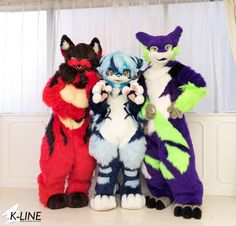 K-LINE Group Photoshoot - by Kemono-LINE