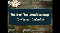 Presentation for my lecture at Destination Halmstad tomorrow is finalized! Looking forward to get back to Halmstad again after many years. #SustainableTourismDevelopment #DestinationHalmstad