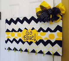 Michigan Photo Holder Wooden Door Hanger