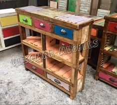 Mesa De Arrime Recibidor Con Maderas Recicladas!!! - $ 8.500,00 Kitchen Cart, Cool Furniture, Entryway Tables, Cool Stuff, Home Decor, Industrial, Home Furniture, Salvaged Wood, Hall