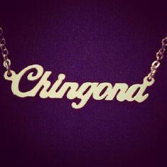 Ha I kinda want this !! #chicana #want #necklace...