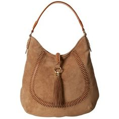 LAUREN by Ralph Lauren Indian Cove Suede Hobo